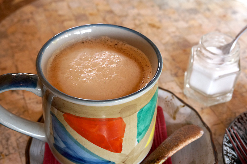 ログカフェ コットンタイムのコーヒー