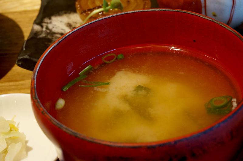 菜家吉(なかよし)おみそ汁