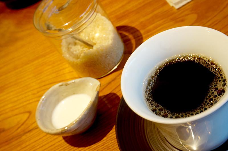 菜家吉(なかよし)食後のコーヒー
