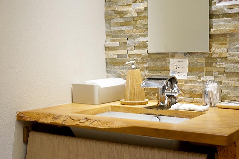 菜家吉(なかよし)おもてなしトイレ手洗い場