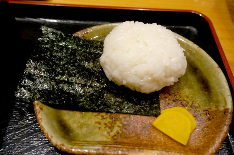 天ぷら専門店 天賀(てんよし)おにぎり