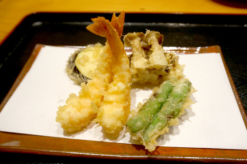 天ぷら専門店 天賀(てんよし)天ぷら