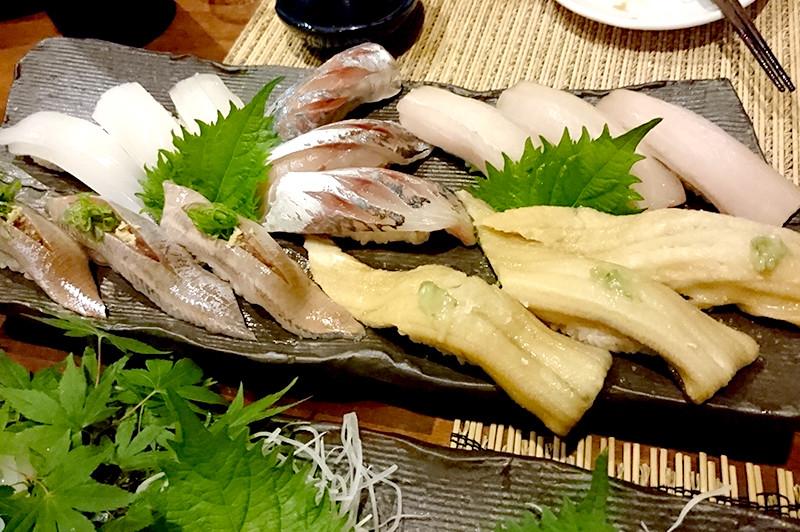 寿司ダイニング 阿しゅく亭 お寿司盛り合わせ