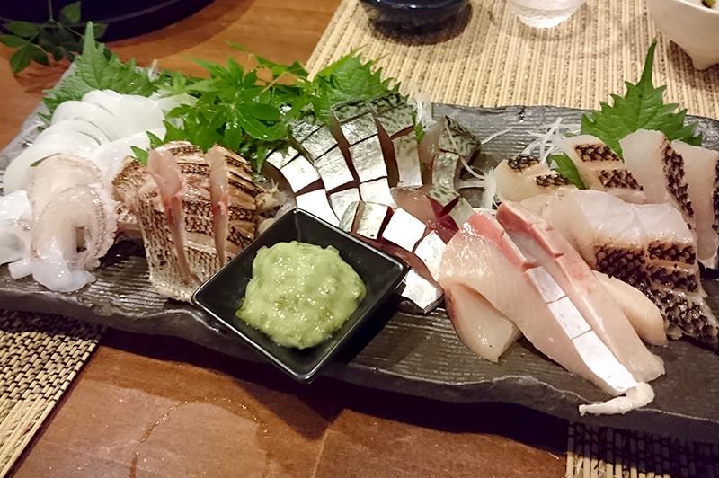 寿司ダイニング 阿しゅく亭 お刺身盛り合わせ