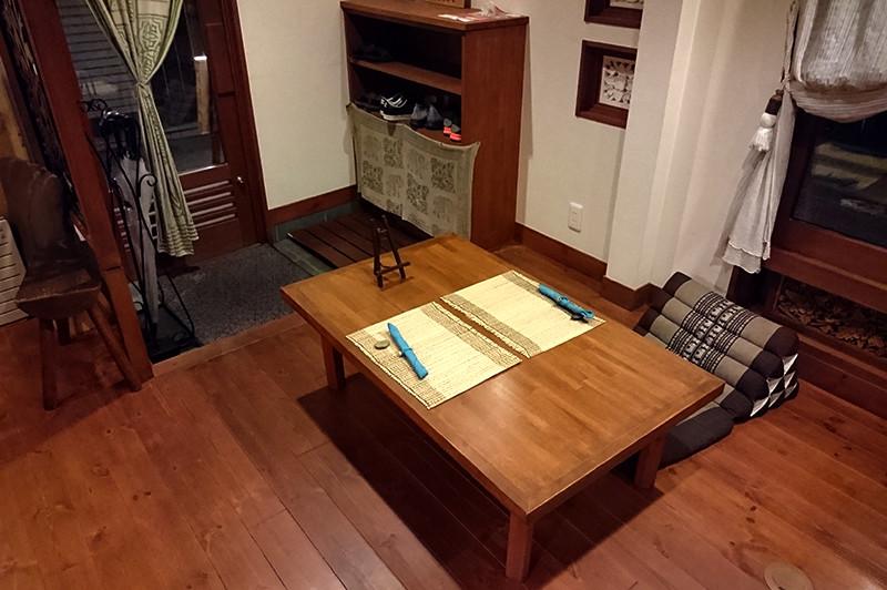 寿司ダイニング 阿しゅく亭 テーブル席