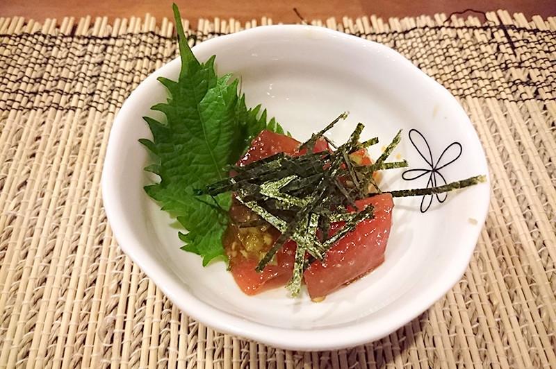 寿司ダイニング 阿しゅく亭 お通し料理