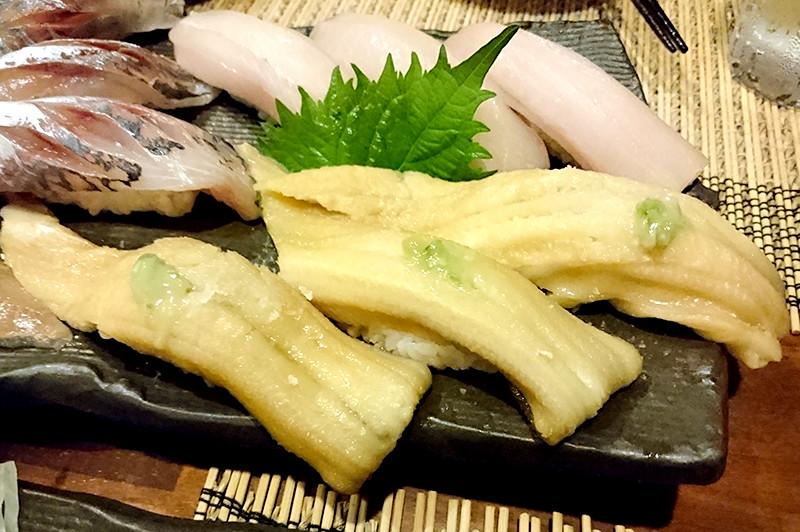 寿司ダイニング 阿しゅく亭 穴子全体