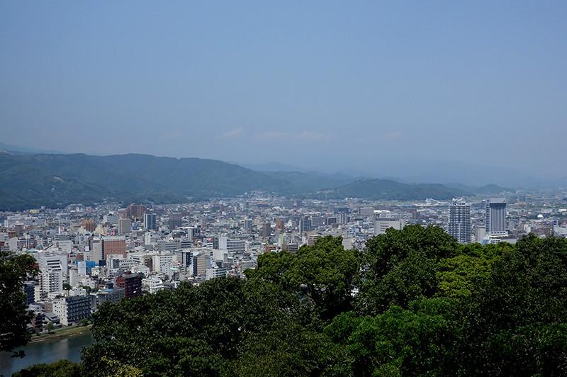 志鵬台・筆の鼻広場 高知市街地
