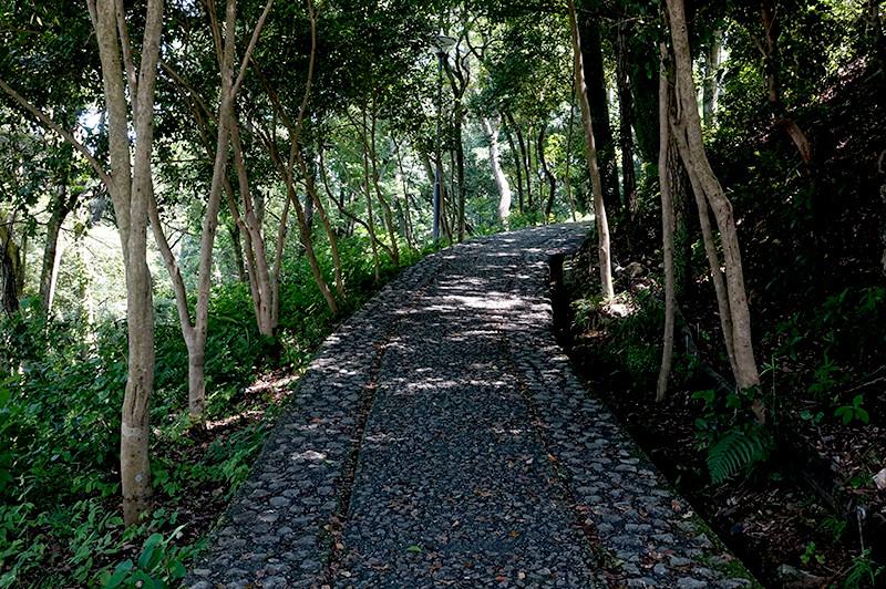 筆山公園 志鵬台・筆の鼻広場 整備された遊歩道