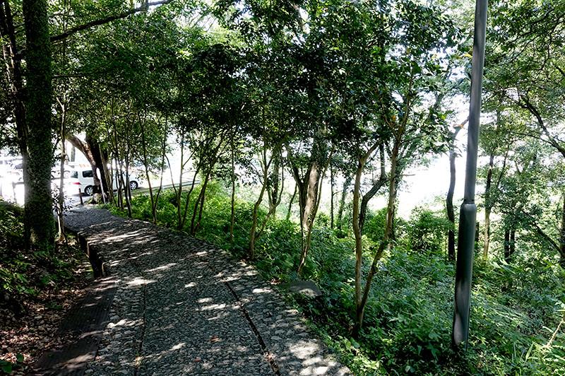 筆山公園 志鵬台・筆の鼻広場 下り入口付近