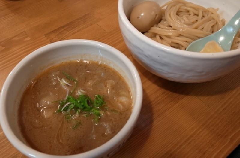 ソライロのつけ麺
