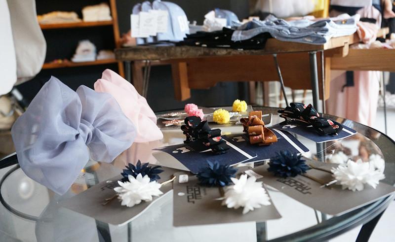 子供服のSPOON アパレルの陳列
