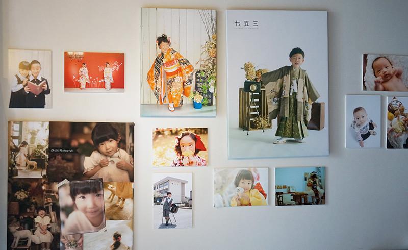 IPRO Galleryに飾られたこども写真