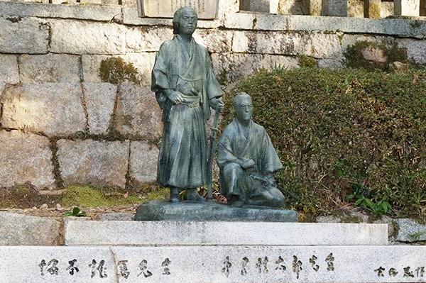 坂本龍馬、中岡慎太郎のお墓参り