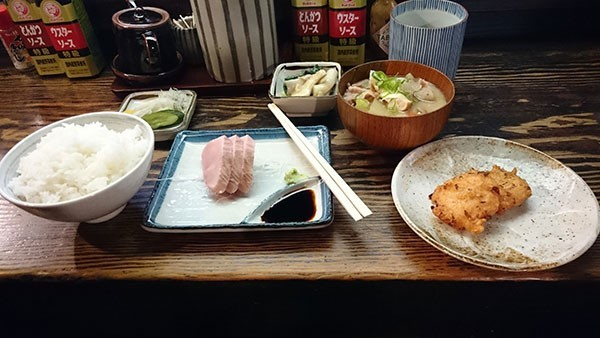 酒亭 どんこの優しくて美味しい800円和食ランチ