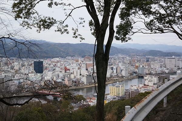 高知市街が一望できる筆山