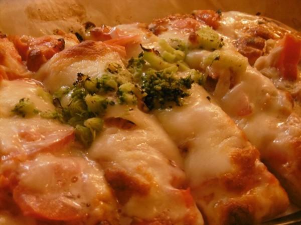 野菜ソムリエの作るフレッシュ野菜のピザ