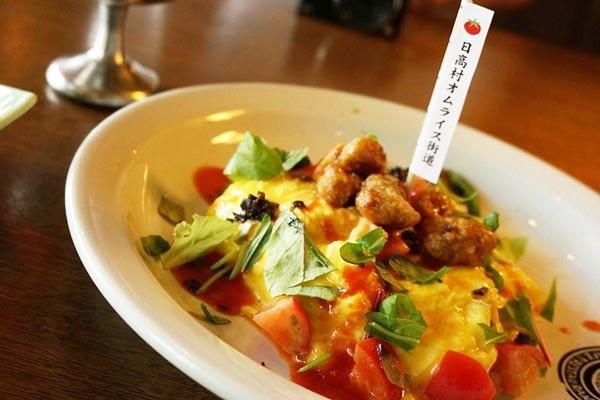 地元の食材をふんだんに使ったレストラン高知の南国土佐のオムライス