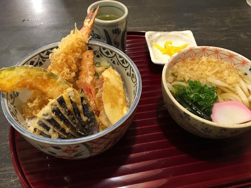 本格手打 うどん処 楓の天ぷら定食
