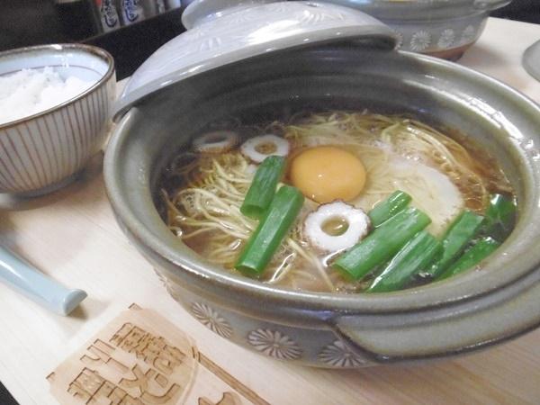 あきちゃんのあつあつキジ肉鍋焼きラーメン