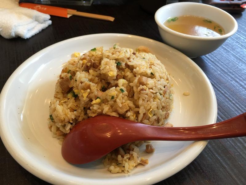 中華料理店の老舗「華珍園 別館」のチャーハン