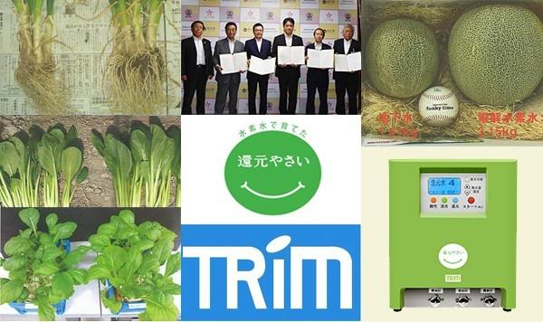 日本トリムが新たに立ち上げた新ブランド「還元野菜」