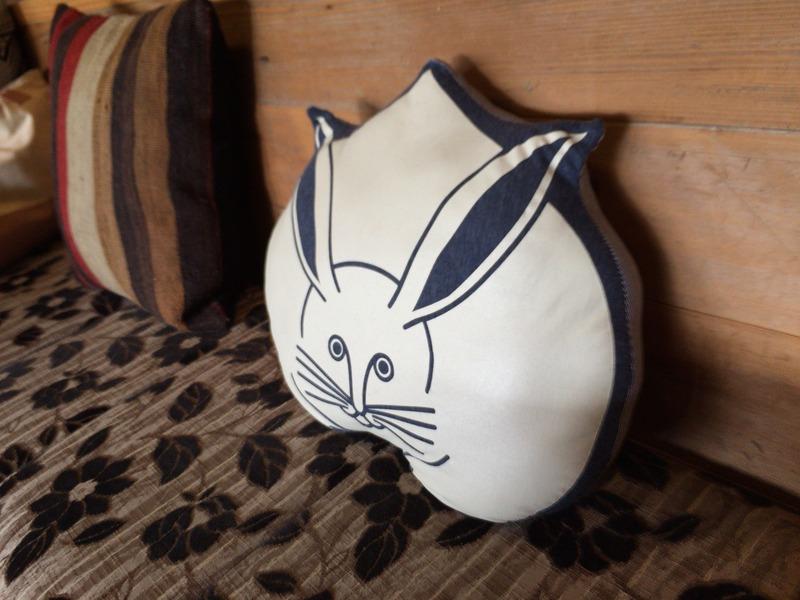 土佐水木のドヤ顔のウサギ