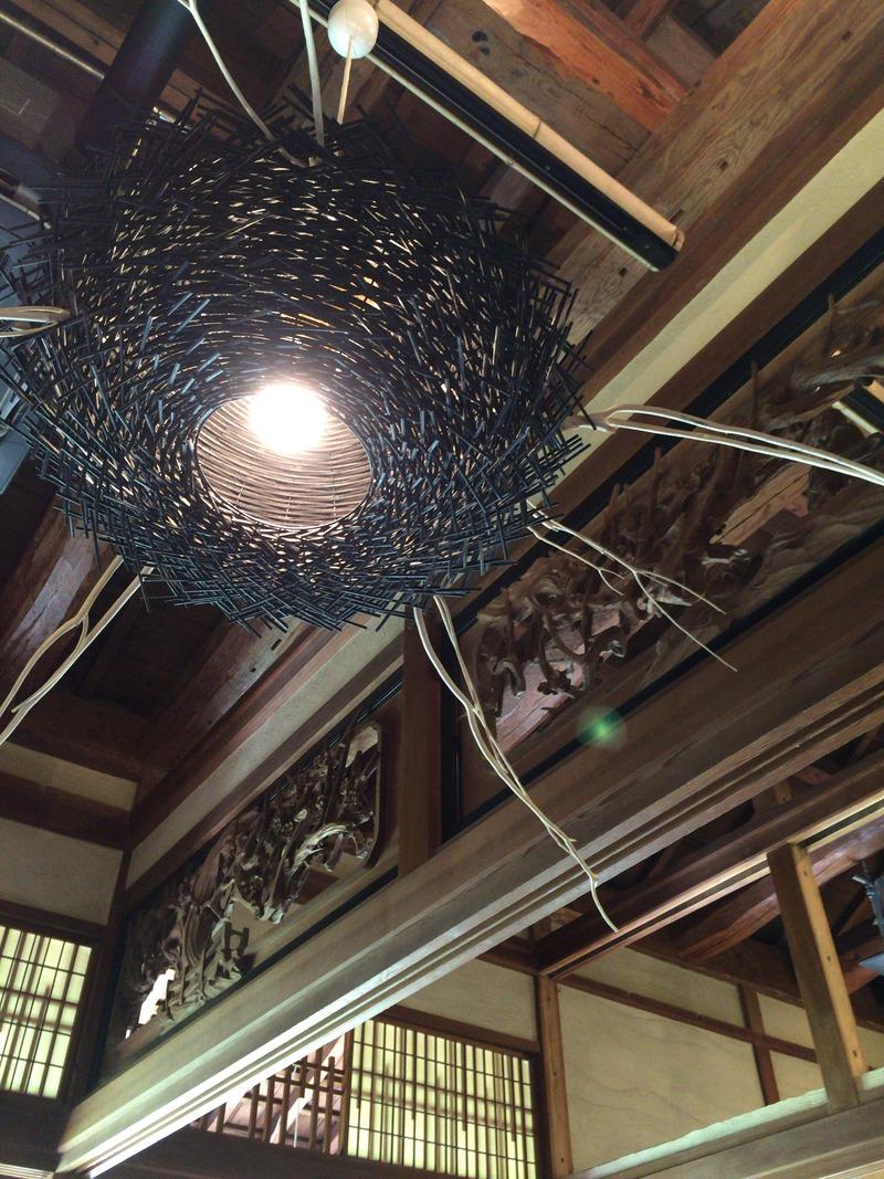 土佐水木の立派な天井