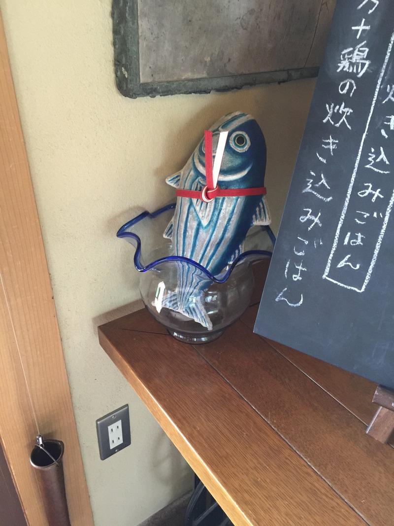 土佐水木の魚