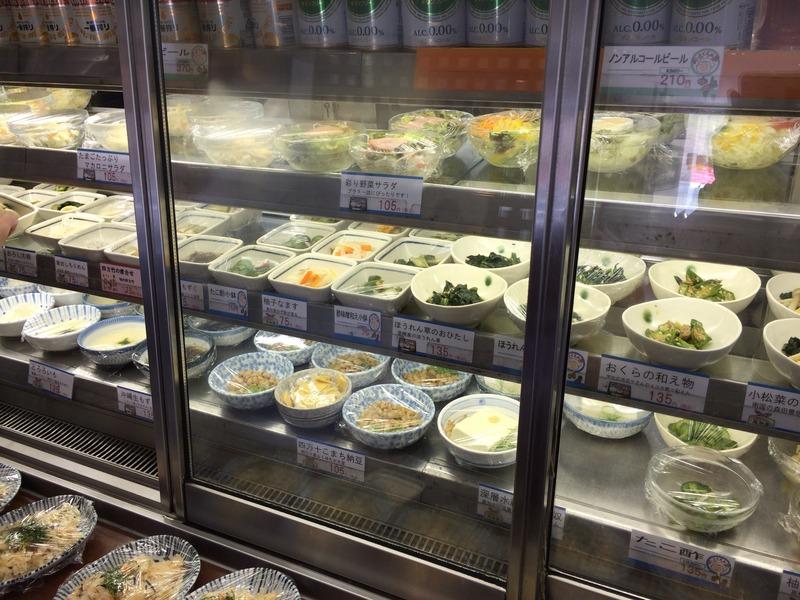 一汁三菜 百石店のおかずの冷蔵庫