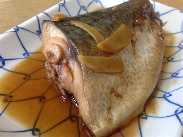 つばき食堂の鯖の煮付け