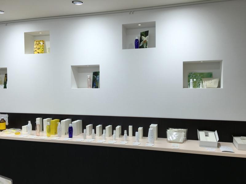 アンテナショップUmajiのゆずを使った化粧品4