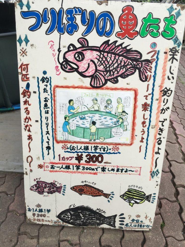 桂浜水族館のつり堀