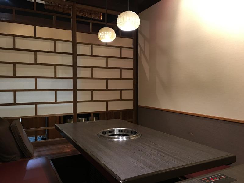 肉屋の焼肉 ぷるこぎの個室