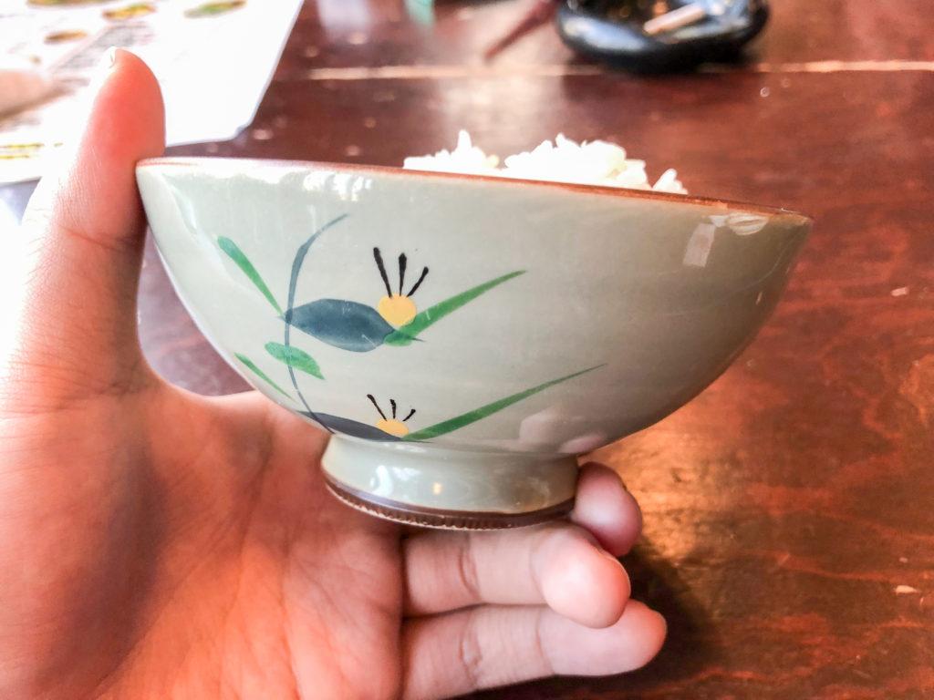高知市の西村商店のお茶碗の画像