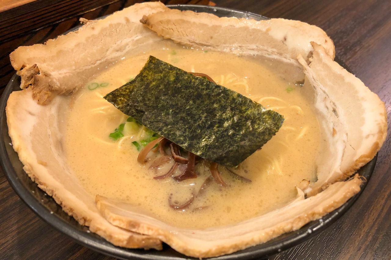 bchラーメンの豚骨チャーシューラーメン1